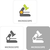 Microscope Pictogram Icons