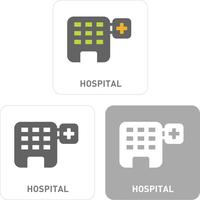 Hospital Pictogram Icons