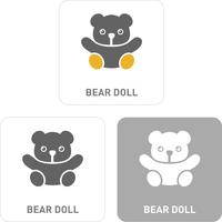 Teddy bear Pictogram Icons  60018001110| 写真素材・ストックフォト・画像・イラスト素材|アマナイメージズ
