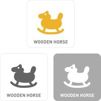 Toy horse Pictogram Icons  60018001158| 写真素材・ストックフォト・画像・イラスト素材|アマナイメージズ