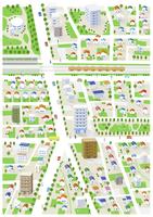 街・住宅街・地図 60025000002  写真素材・ストックフォト・画像・イラスト素材 アマナイメージズ