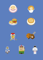 アメリカの料理と土産物 60026000009| 写真素材・ストックフォト・画像・イラスト素材|アマナイメージズ