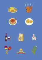 南米の料理と土産物 60026000022  写真素材・ストックフォト・画像・イラスト素材 アマナイメージズ