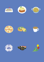 オランダの料理と土産物