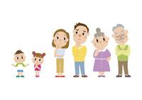 悩む三世代家族 60029000002| 写真素材・ストックフォト・画像・イラスト素材|アマナイメージズ