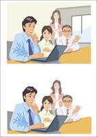 打ち合わせ中のビジネスマン 60030000014| 写真素材・ストックフォト・画像・イラスト素材|アマナイメージズ
