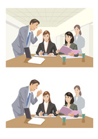 新事業について会議をする社員たち 60030000063| 写真素材・ストックフォト・画像・イラスト素材|アマナイメージズ