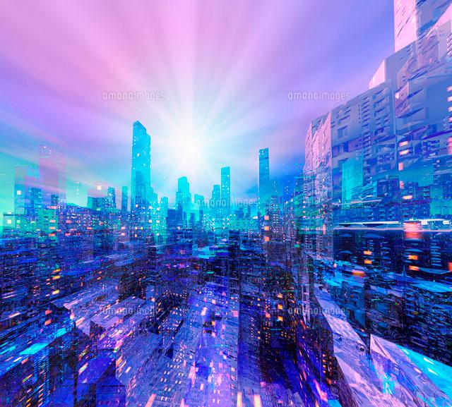 未来都市[10131000504]| 写真素...
