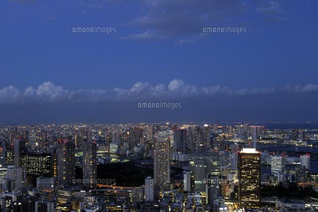 東京タワー特別展望台から見る築...