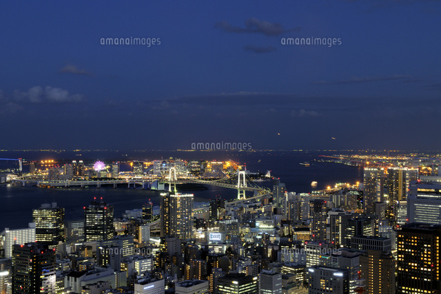 東京タワー特別展望台から見るお...