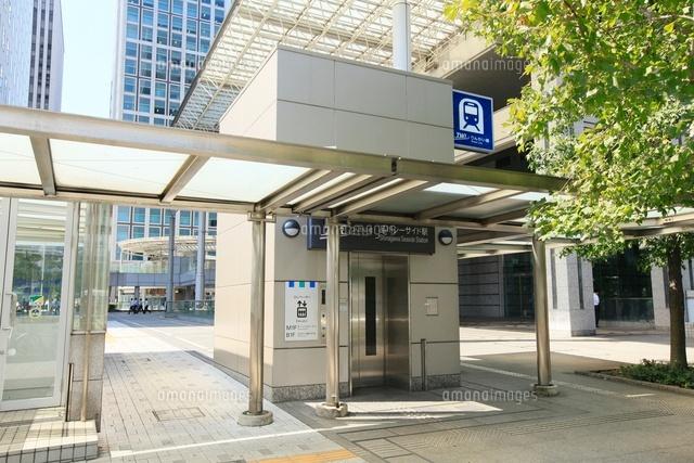 品川シーサイド駅 エレベーター...