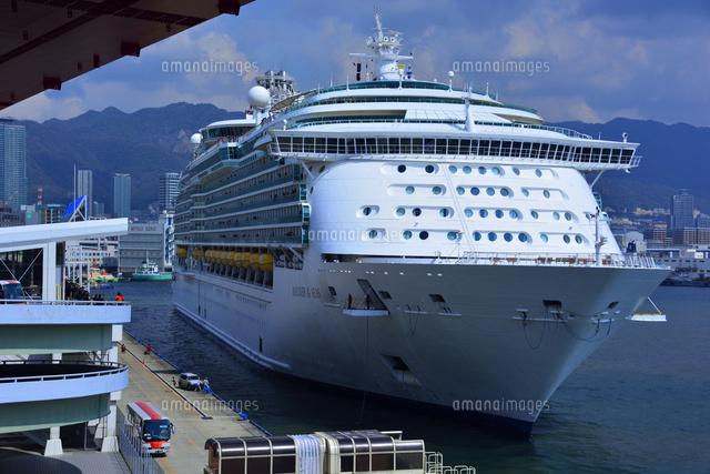神戸港にmariner of the seasが入港 10254013527 写真素材 ストック