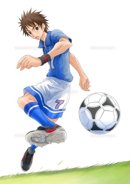 サッカー少年