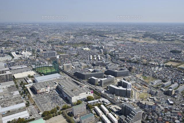 新船橋駅空撮 南西側より北西側...
