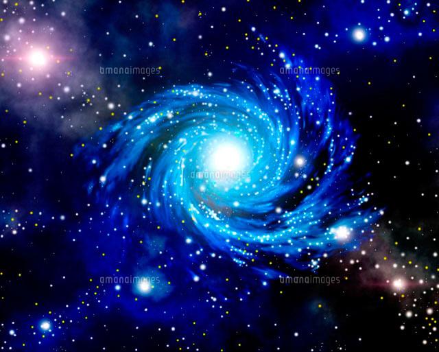 CG,宇宙,星雲,光の渦巻き[110...