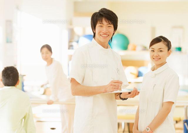 笑顔の理学療法士[11007057221]...