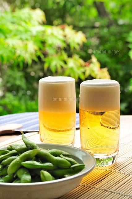 ビールと枝豆[11012019192]| 写真素材・ストックフォト・画像 ...