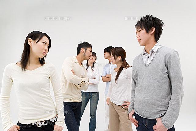 対立する若者達[11014008989]| ...