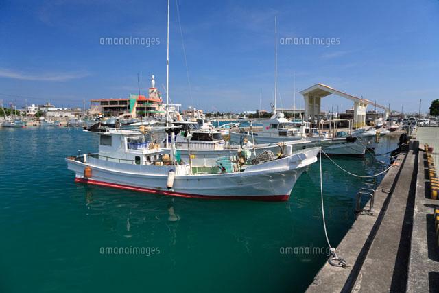 糸満漁港[11014026752]| 写真素...