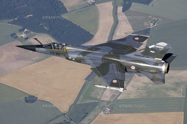 mirage f1cr of the french air force over france 11079024308 写真
