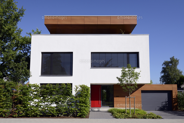 germany modern detached one family house 11094011632 写真素材