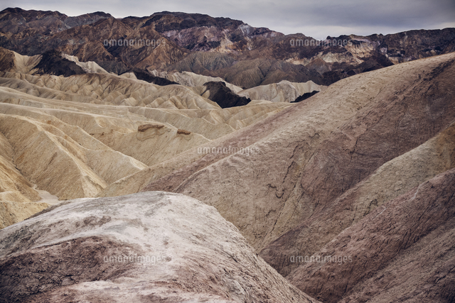 scenic view of dramatic landscape at death valley national park