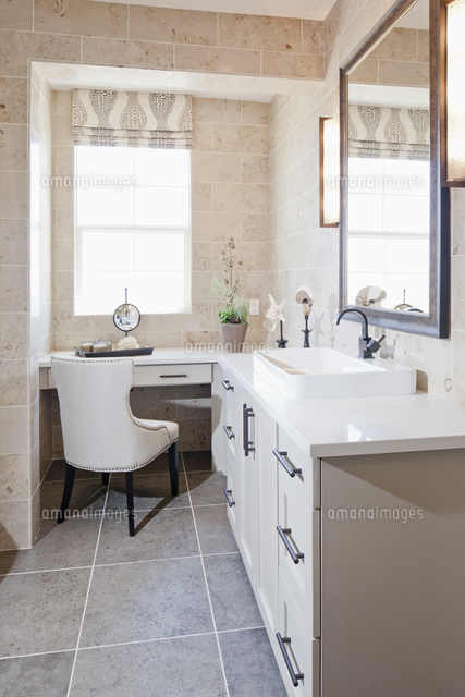 bathroom vanity and dressing table 11107010197 写真素材 ストック