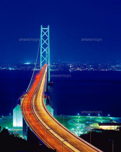 明石海峡大橋夜景[28144047209]| 写真素材・ストックフォト・画像 ...