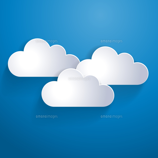 vector illustration network template clouds 60016000051 写真素材