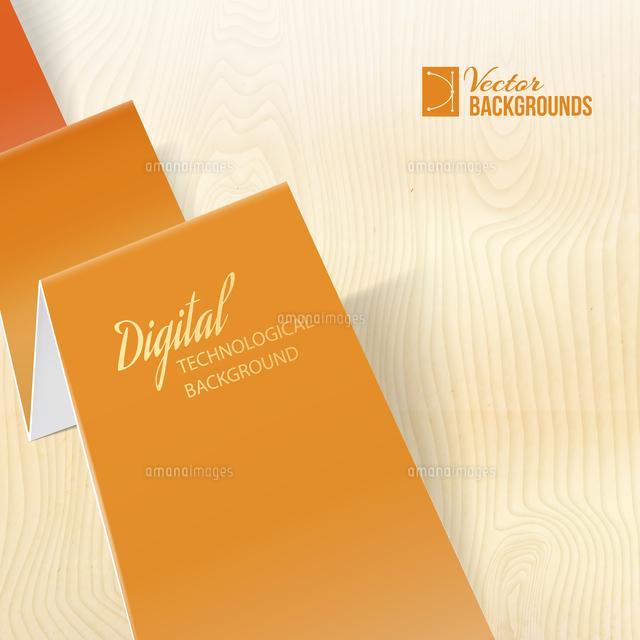 folded origami paper for your design vector illustration