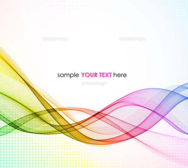 abstract colorful vector template waved background eps10
