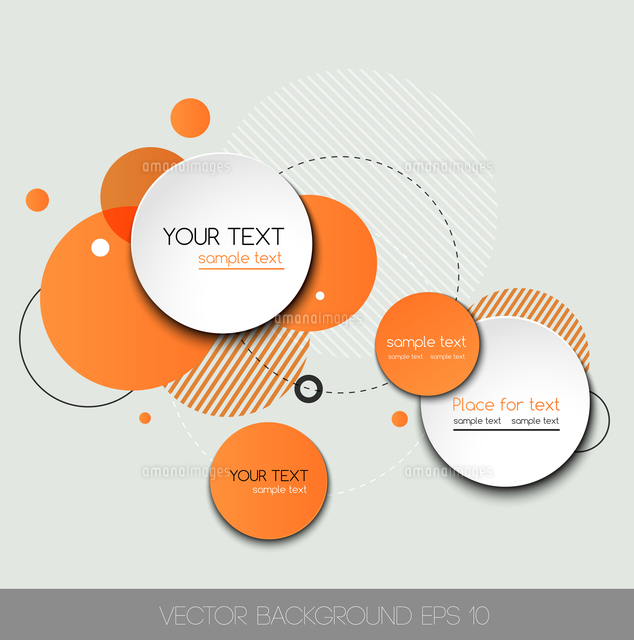 vector modern design circle template for infographics 60016001583