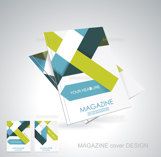 magazine or brochure template design 60016002524 写真素材
