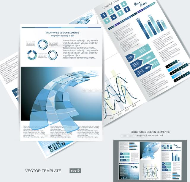 elegant business brochure design 60016004606 写真素材 ストック