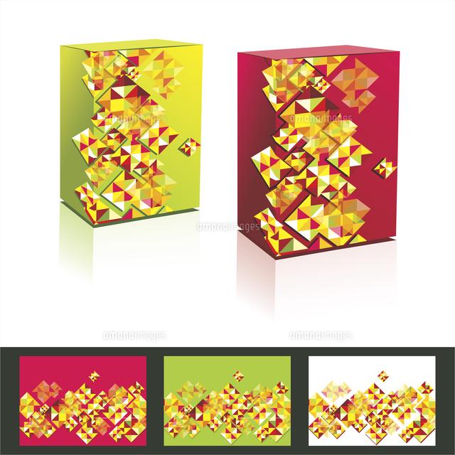 vector music cd cover amp box design template 60016004693 写真
