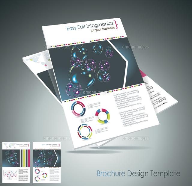 magazine cover layout design vector 60016004853 写真素材