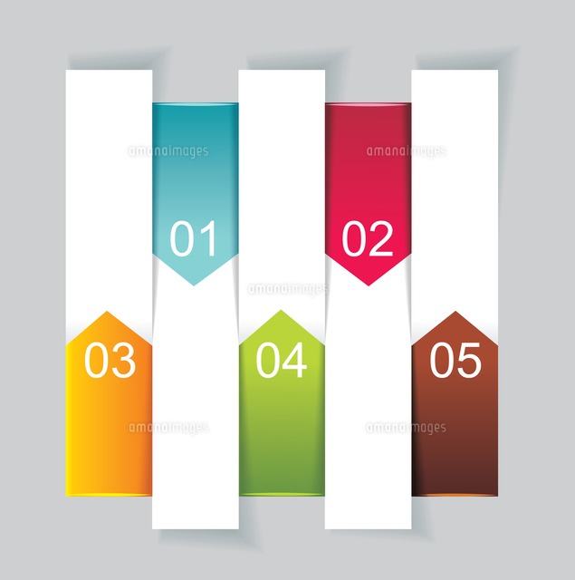 modern design template vertical banners can be used for workflow