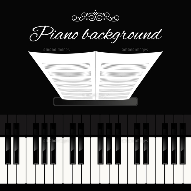 music concert grand piano instrument keyboard background template