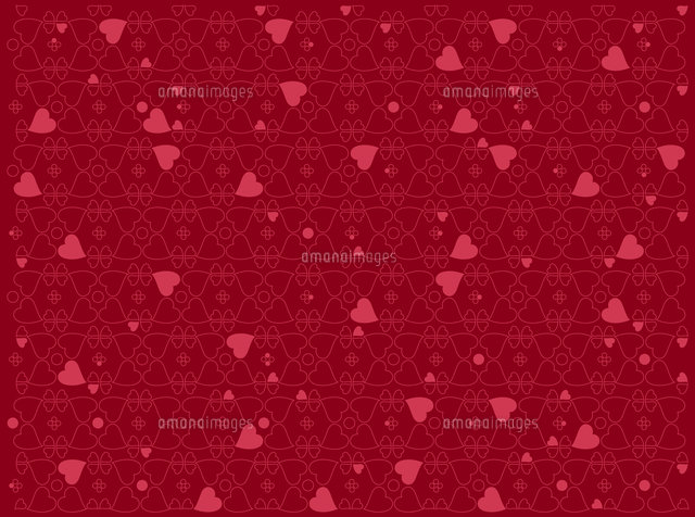 vector illustration of heart motifs for valentine day cards or