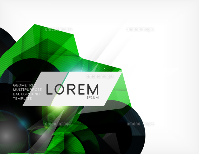 corporate abstract business template for brochure presentation