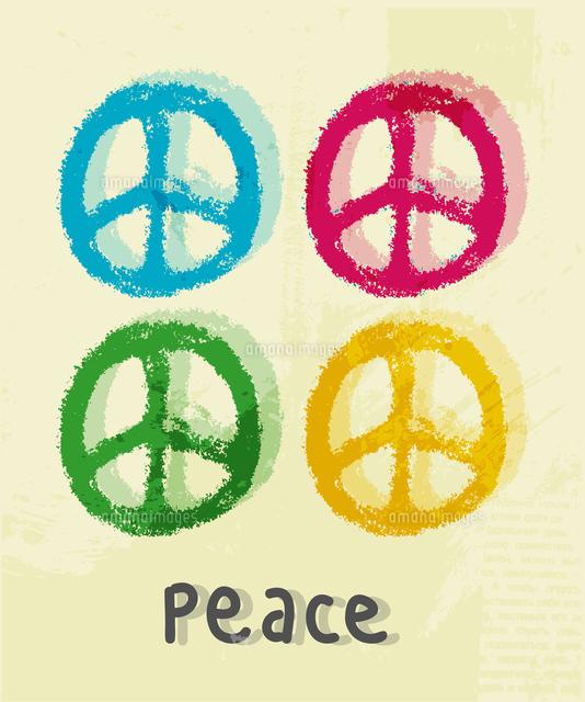 illustration of peace sign 60016015259 写真素材 ストックフォト