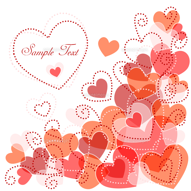 cute background with hearts 60016016394 写真素材 ストックフォト
