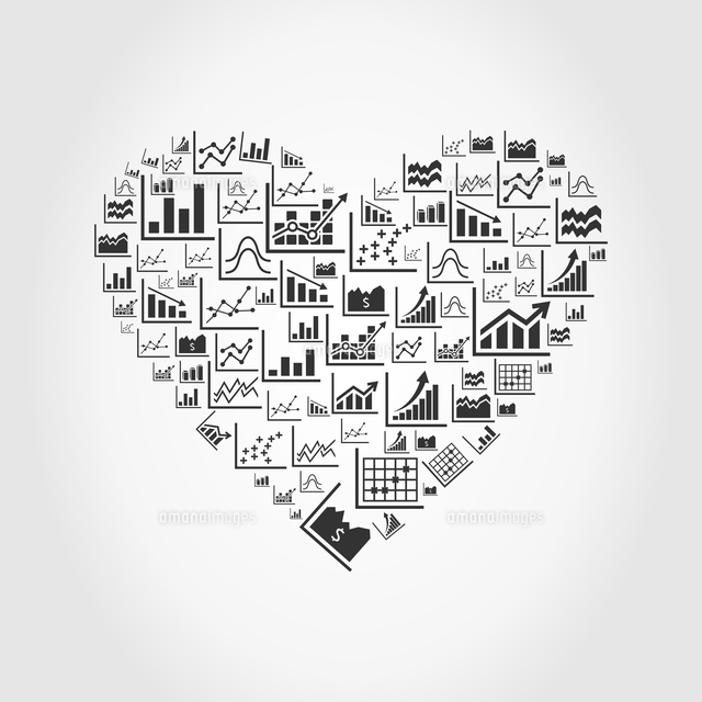 heart made of the schedule a vector illustration 60016024812