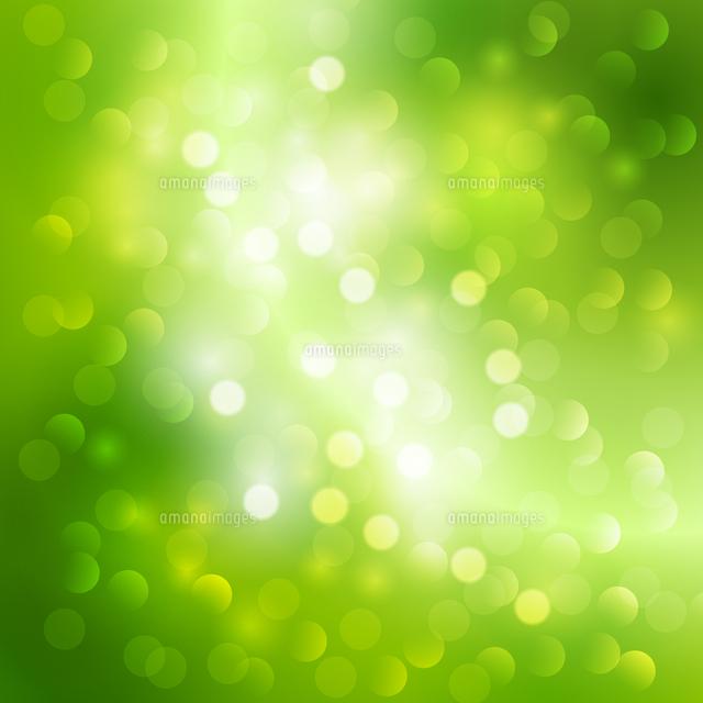 vector illustration green bokeh light background 60016026280 写真