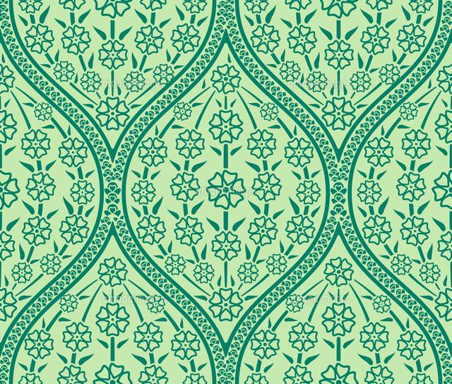 Vector green oriental floral seamless pattern wallpaper60016027104 vector green oriental floral seamless pattern wallpaper cingram image voltagebd Image collections