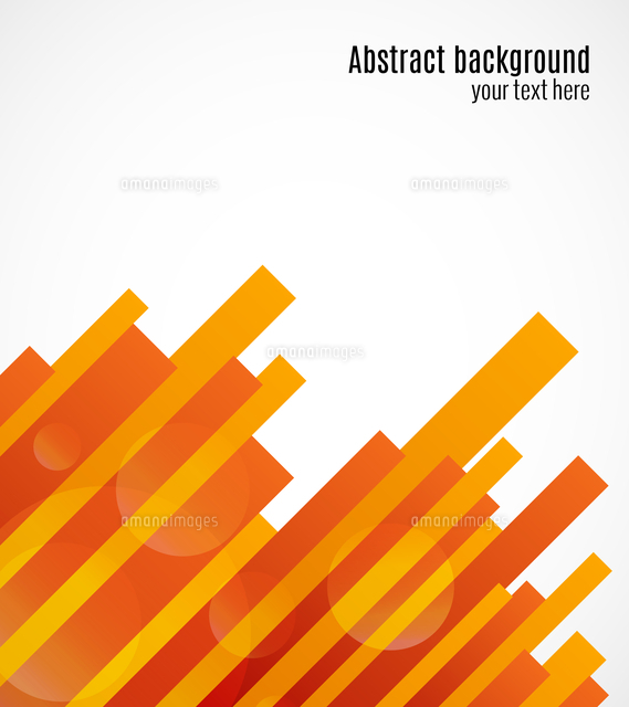 abstract decorative geometric red and orange background template