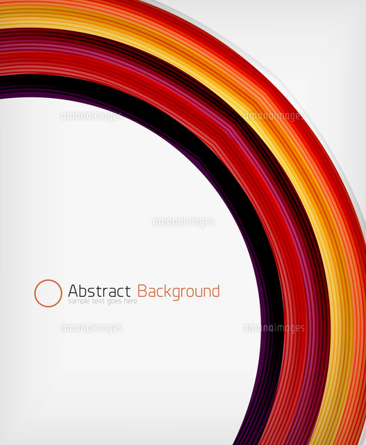 rainbow color wave abstraction design template with copy space