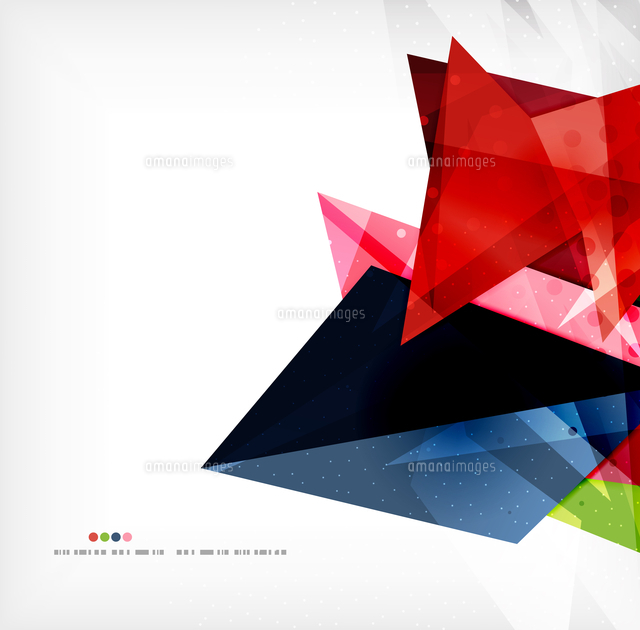 abstract sharp angles background business brochure layout