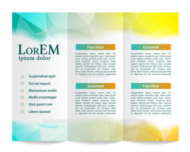 tri fold brochure template 60016037194 写真素材 ストックフォト