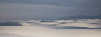 Panoramic of tranquil white sand dune, White Sands, New Mexico, United States 11086025668| 写真素材・ストックフォト・画像・イラスト素材|アマナイメージズ